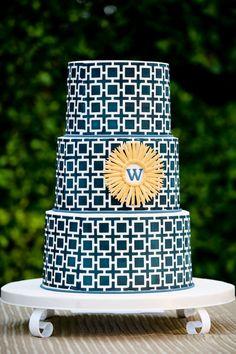 Modern Wedding Cake Design | Studio Moirae