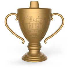 Your kid is officially the BEST, so give him LIL' WINNER! Fill this 6 ounce trophy-style sippy cup with junior's favorite beverage and let the celebration begin. Made of...