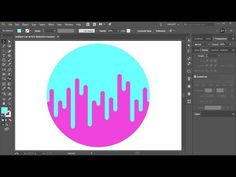 "How to Draw a ""Two-Toned"" Circle in Adobe Illustrator - YouTube"