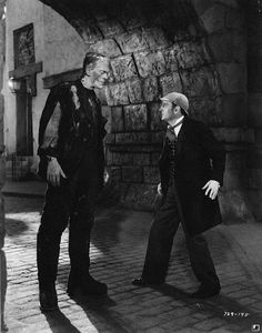 """Karloff & Rathbone square off in """"Sherlock Holmes Meets the Universal Monsters"""" [Just when I thought I had seen it all...]"""