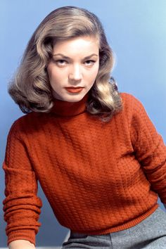 Lauren Bacall Most Iconic Photos (via Harper's Bazaar)