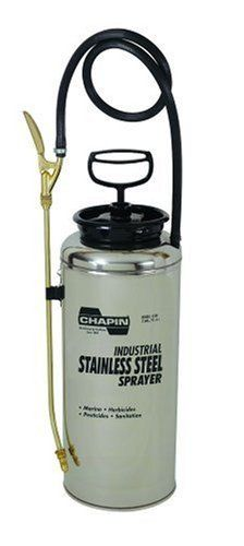 Chapin 3 Gallon Stainless Sprayer 1749 By 156 16 Convenient Carrying Strap