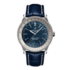 Worldwide Watches Magazine Breitling Navitimer, Breitling Superocean Heritage, Breitling Colt, Breitling Watches, Sleek Rose Gold, Rolex, Date Heure, Bracelets Bleus, Swiss Automatic Watches