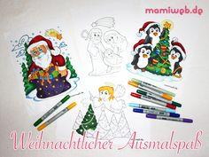 Mamiweb.de - Ausmalbilder Weihnachten