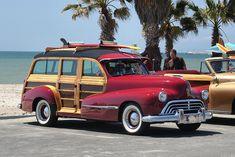 1947 Oldsmobile woody - maroon