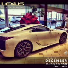 Dashing through the snow, In a Lexus LFA!  Over the fields we go, Laughing all the way. Ha, ha, ha! (sweet instagram from @itsdrewmoney ) Lexus Lfa, Lexus Cars, Dashing Through The Snow, Fields, Laughing, Bmw, Sweet, Instagram, Candy