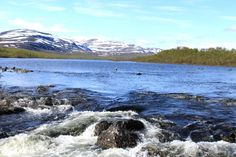 Malla Strict Nature Reserve, Kilpisjärvi close to Three Nations Cairn where Sweden; norway and Finland meet.