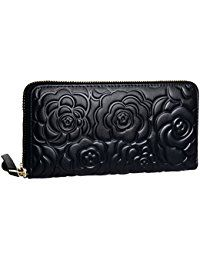 Buy Womens Leather Wallets Long Zippered Around Handbag Card Case Holder Money Clip Wallet - Black-e - and More Fashion Bags at Affordable Prices. Leather Cuffs, Leather Jewelry, Metal Jewelry, Gothic Jewelry, Country Jewelry, Money Clip Wallet, Cowgirl Jewelry, Wallets For Women Leather, Metal Bracelets