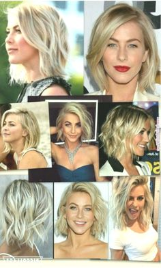 10 Best Ideas About Julianne Hough Short Hairstyles To get the best look of you and your hair at any Short Curly Hair, Wavy Hair, Thick Hair, Short Wavy, Belliage Hair, Wavy Curls, Straight Hair, Julianne Hough Short Hair, Medium Hair Styles