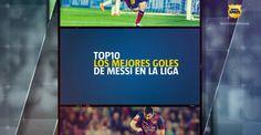 TOP10 - Mejores goles de Messi en La Liga (ESP)