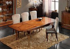 Pod ostrzałem pytań #classic #table #busatto #interior #design