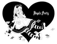 """Alice in Wonderland"" ""Angelic Pretty""  Artist: ""Imai Kira"""