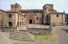 Colegiata de Santillana del Mar (siglo XII), Cantabria, Spain