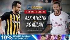 BERITA BOLA: AGEN BOLA Liga Judi Official Partnership with Livescore and Nowgoal  AEK ATHENS VS MILAN  Competition: UEFA Europa League Date: 3 November 2017 Kick-off:  01:00 WIB  Pasaran Handicap: 1/2:0  Pelayanan cepat dan 24 jam tanpa LIBUR  Klik http://ift.tt/1X2xzgW  Hubungi customer service online 24 jam kami: BBM: D8D69FFC WhatsApp: 639178396138 Line: Ligabet  #aekathens #milan #europaleague #uefaeuropaleague #bola #jadwalbola #premierleague #capsa #judipoker #poker #capsasusun…