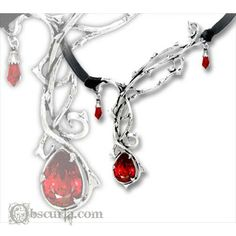 Passion of the Vampire Necklace