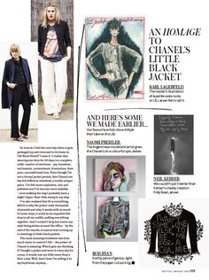 Natalie Hartley wears...: The Chanel Black Jacket.....