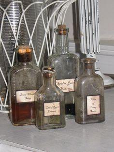Lovely Vintage Bottles