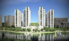 Chung cư An Bình City nổi bật với hồ điều hòa 15ha