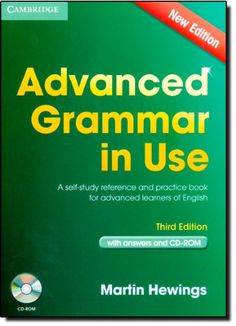 Advanced Grammar in Use Book with Answers and CD-ROM 3rd Edition: Amazon.es: Martin Hewings: Libros en idiomas extranjeros