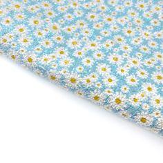 Daisy, Daisy Chunky Glitter Fabric Sheets Daisy Chain, Daisy Daisy, Glitter Fabric, All Design, Craft Supplies, Bows, Colours, Embroidery, A4