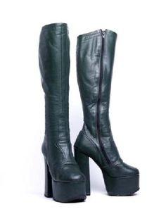 Platform Chunky Heel Boots