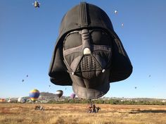 {Darth Vader} I don't think this balloon will play well with the others.