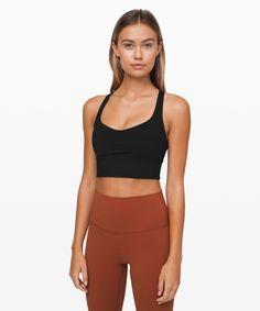 lululemon Women's Free To Be Sports Bra Wild Long Line, Black, Size 8 Cute Workout Outfits, Sporty Outfits, Athletic Outfits, Cute Outfits, Athletic Clothes, Athletic Wear, Yoga Fashion, Sport Fashion, Fitness Fashion