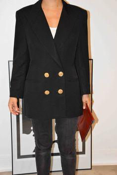 Veste Guy Laroche Vintage Taille 3840 par HagenShop sur Etsy