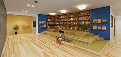 幼稚園・保育園・園舎設計 幼児の城 | あおぞら保育園