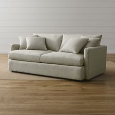 "Lounge II 83"" Sofa - Crate and Barrel"