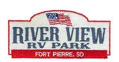 River View RV Park - Company logo South Dakota Travel, Rv Parks, Sd, Company Logo, River, Mobile Home Parks, Rivers
