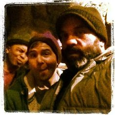 #OUAT dwarves behind the scenes