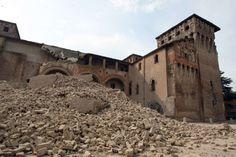 Terremoto Emilia: distrutto il Castello delle Rocche a Finale Emilia