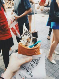 Taiyaki ice cream - Bangkok, Thailand #nealphotography