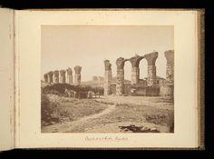 Asia Minor, Aqueduct and castle, Ayasolook, Turkey, 1885, collection Pierre de Gigord, Getty