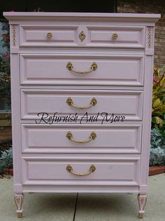 French Provincial Dresser recreated by Refurnish And More.