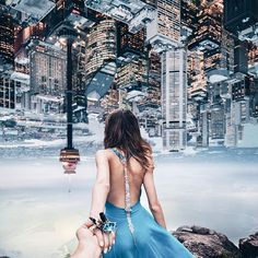 the parallel universe World Photography, Creative Photography, Amazing Photography, Travel Photography, Murad Osmann, Fairytale Fashion, Parallel Universe, Set Me Free, Walk This Way