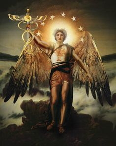 Archangel Raphael - Patron of Healers The Archangels are very real, powerful and non-denominational angles. They over see the guardian angels. Archangels are God's/Creator's messengers. They protect us and guide us with every aspect of our everyday life. They bring peace to earth and any person that invites them into their life. Read more about them http://www.soulfulheartreadings.com/archangels/