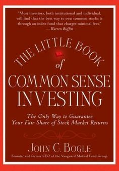"""A Shout-Out for  """"The Little Book of Common Sense Investing"""""""