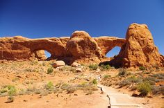Windows Area, Arches National Park, Utah, September 27, 2011 (pinned by haw-creek.com)