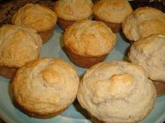 beer biscuits 6oz beer (drink the rest) 2 C. bisquick (I use HeartSmArt Bisquick -no       transFat) 2 Tbsp sugar  Mix ingredients together and spoon into 6 muffin tins sprayed with cooking oil. Let sit for 15 min.  Bake in 400* oven for 20 minutes or until golden brown.
