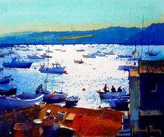 English watercolourist Richard Thorn