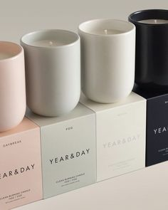 Candle Branding, Candle Packaging, Candle Labels, Packaging Ideas, Homemade Candles, Diy Candles, Scented Candles, Yankee Candles, Candle Box