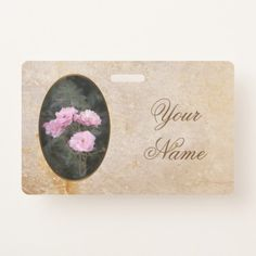 Vintage design. Photo of pink roses. Add your text Badge #badge #vintage #retro #pinkroses #scratch #retrostyle #grunge #summer #garden #pink #roses #old #aged #customized, #personalized, graphics, artwork, buy, sale, #giftideas, #zazzle, shop, discount, #deals, gifts, shopping
