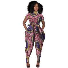 African Women Romper - February 22 2019 at African American Fashion, African Inspired Fashion, African Print Fashion, African Fashion Dresses, African Outfits, African Clothes, African Attire, African Wear, African Women
