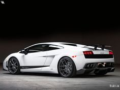 White Lamborghini Superleggera