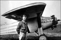 avion de fou | Charles Lindbergh