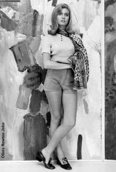 Hot Pants 1970 • Hotpants girls years 70's shorts ragazze anni 70 - a very young Olivier