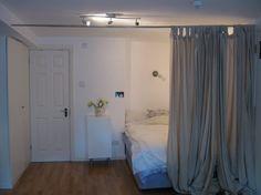 Smaller Curtain Cutoff For Closet Area