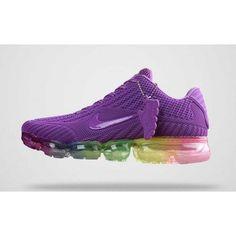 sports shoes a512d 4e648 Femme Nike Air Vapormax KPU TPU Chaussures Violet Solde